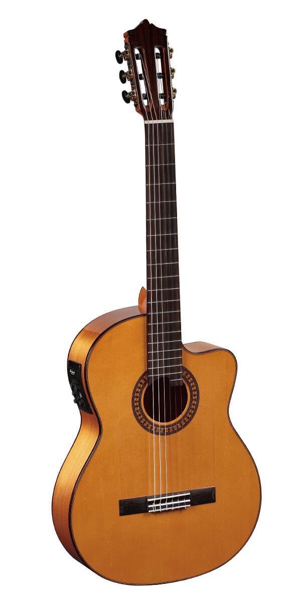 玛丁尼 Martinez MFG-AS CE 古典电箱吉他